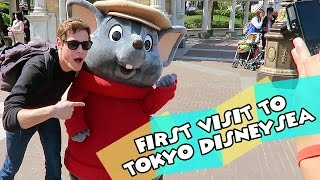 TOKYO DISNEY TRIP | First Visit to Tokyo DisneySea | Day Two Part One