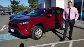 2019 Toyota Rav4 LE AWD Walk-Around!