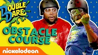 Kenan & Kel Take on the Double Dare Obstacle Course | Nick