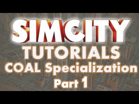 SimCity 5 Tutorials - Coal Specialization Part 1
