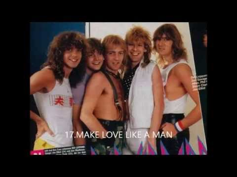 TOP 30 DEF LEPPARD SONGS