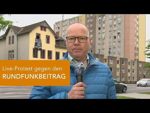 LIVE-PROTEST im NDR gegen den RUNDFUNKBEITRAG