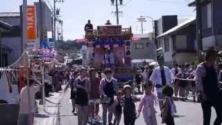 静岡県牧之原市旧相良町のお祭り。 時間の都合上すべて撮影できませんで...