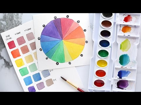 How to stretch your watercolors by mixing SIMPLE & BEAUTIFUL custom colors