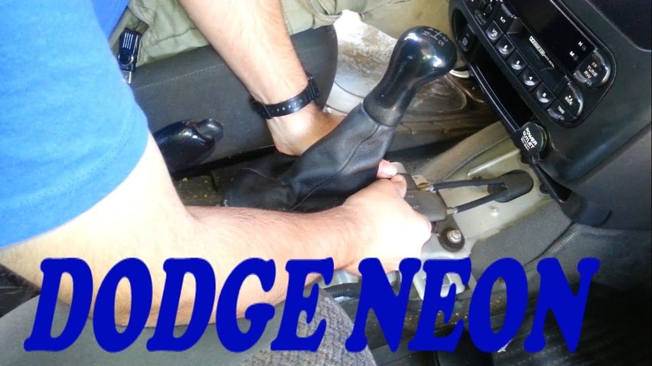 Como Reparar Palanca De Velocidades De Dodge Neon Sin