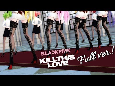 【MMD】BLACKPINK - Kill This Love💔 (Full Ver.) 【40 Models】Vocaloids Dance Cover [4K]