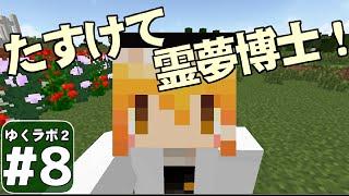 【Minecraft】ゆくラボ2~大都会でリケジョ無双~ Part8【ゆっくり…