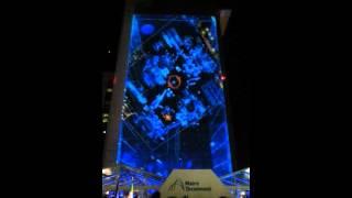 Maire Tecnimont Headquarters videomapping light show