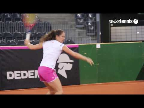 Fed Cup in Cluj: Interview Patty Schnyder