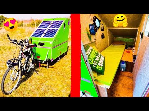 Weird Video The World S Smallest Caravan Unveiled In Bizarre