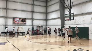 Warmup Dunks Basketball