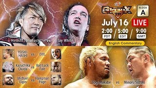 【Live】G1 CLIMAX 28, Jul 16, Hokkaido・Hokkai Kitayell