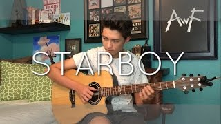 The Weeknd - Starboy ft. Daft Punk - Cover (Fingerstyle Guitar)