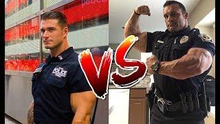 Best Police Man Training - Michael Counihan VS  Matthew Schmidt