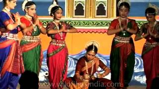Odissi - a classical dance form from Orissa in India