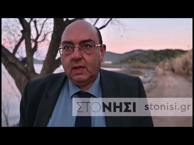 O δήμαρχος Δυτικής Λέσβου Ταξιάρχης Βέρρος για τις καταστροφές από την κακοκαιρία