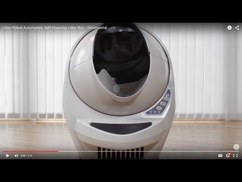 Litter-Robot Automated, Self-Cleaning Litter Box - Testimonial