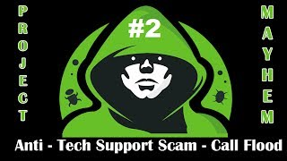 Revenge on a Tech Support Scam - Call Flooder [Surprised IRS Scam Too]