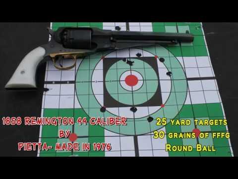 1858 Remington 44 cal Pietta (made in 1976)