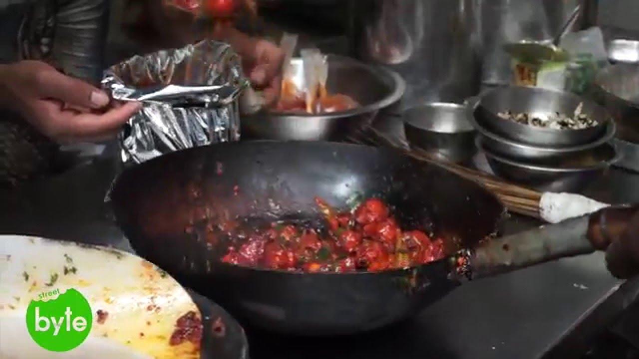 Chilli chicken preparation restaurant style famous indian food chilli chicken preparation restaurant style famous indian food youtube forumfinder Images