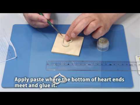PMC OPEN HEART PENDANT  Molding Technique
