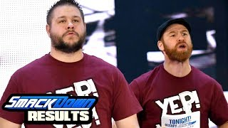 Owens & Zayn Face Turn? WWE Smackdown Review & Results 12/12/17 Going in Raw Pro Wrestling Podcast
