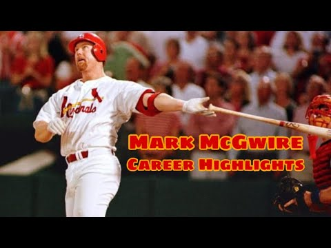 Mark McGwire ultimate career highlights (HD)