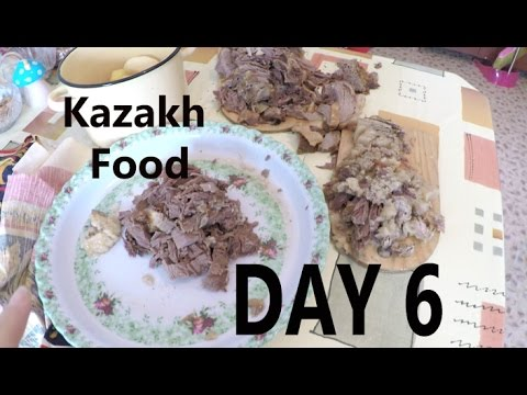 30 Days in Kazakhstan Vlog Day 6 (Traditional Kazakh Food, Hospitality and McDonalds)