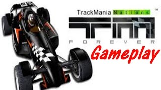 ( Trackmania Nations Forever / Gameplay / PC )