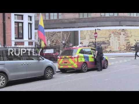 UK: Police enter embassy as Ecuador denies plan to expel Assange