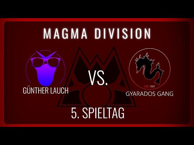 Günther Lauch vs Gyarados Gang, 5. Spieltag Magma Division   NERDKRAM POKEMON LEAGUE