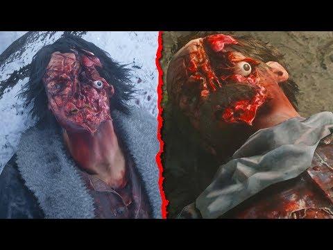 GORIEST Deaths in Red Dead Redemption 2 (RDR2 Brutal Moments) Mp3