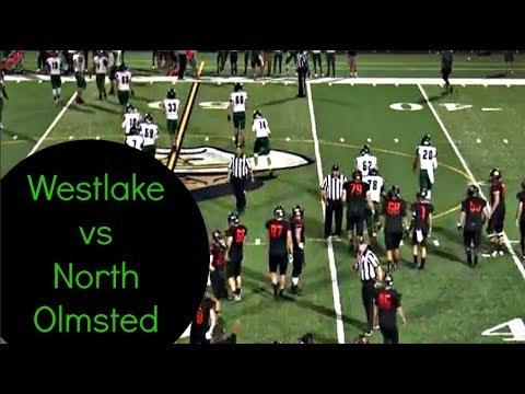 Westlake Demon Football Vs North Olmsted