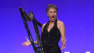 Reinventing Freedom With Electric Harp Deborah Henson Conant TEDxNatick