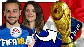 ON A GAGNÉ LA COUPE DU MONDE ! | FIFA 18 NINTENDO SWITCH FR