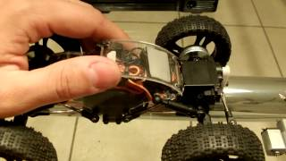 57 Redcat Racing 1/24 Sumo Crawler Micro Rc With Mods / Upgrades Brushless Motor