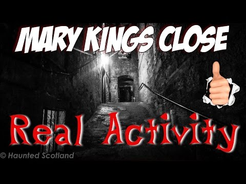 Paranormal Activity Ghost Calling   Mary Kings Close   Edinburgh