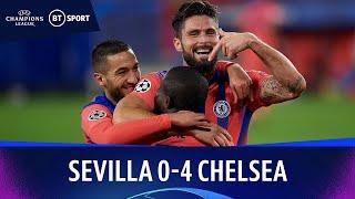 Sevilla v Chelsea (0-4) | Champions League Highlights