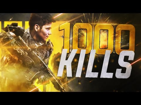 Getting 1000 Killls on Call Of Duty Blackout