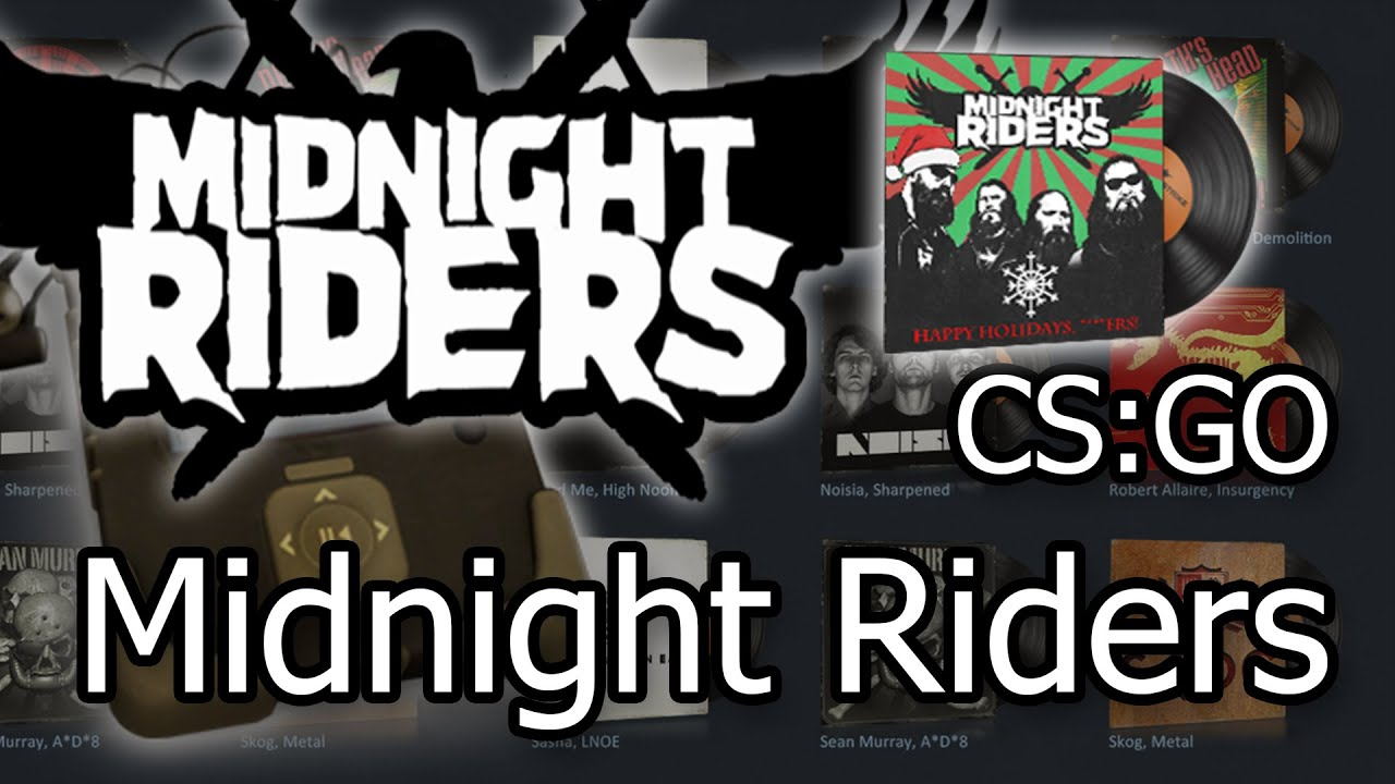 CS:GO NEW Music Kit - Midnight Riders: All I Want For Christmas ...