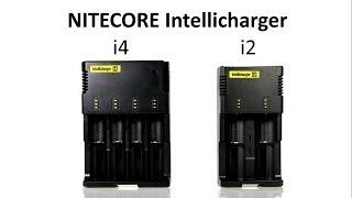 видео Универсальное зарядное устройство Sysmax Nitecore Intellicharger i2