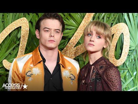 'Stranger Things' Stars Charlie Heaton & Natalia Dyer Make Their Red Carpet Debut!