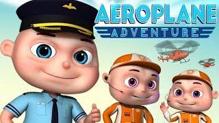 Zool Babies Series  Airplane Adventure Single Episode Cartoon Animation For Children By Videogyan