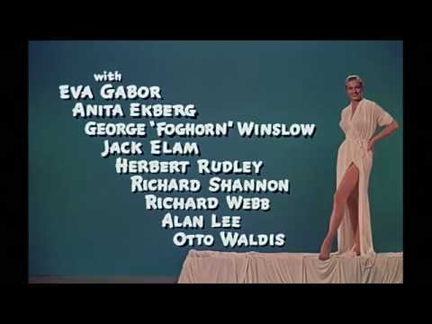 Dean Martin - Artists & Models Opening Credits