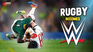 When Rugby Becomes WWE