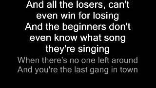 Rusty James -Green day Lyrics