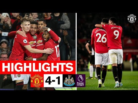 Martial, Rashford & Greenwood Fire Reds To Win Over Newcastle | United 4-1 Newcastle | Highlights