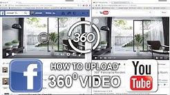 How to Upload 360 Video on Facebook & Youtube _ 360 Panorama Rendering Tutorial _ Part 3