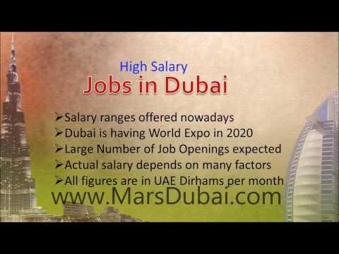 Dubai Salary and Pay Scale  www.MarsDubai.com