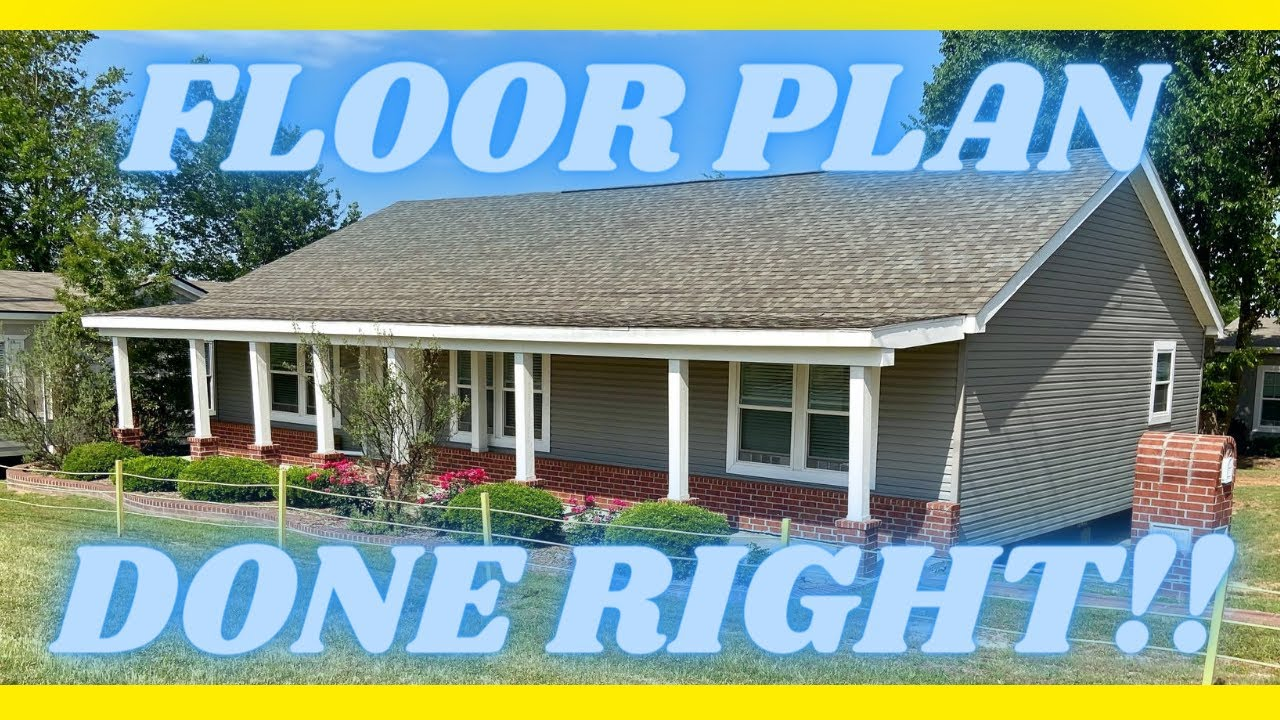 NEW home with a wonderful floor plan! Everyone loves this double wide layout! Mobile Home Tour